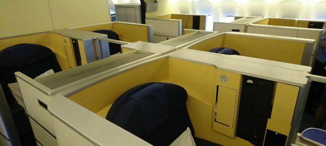 ANAファーストクラスで親孝行!NH10便搭乗記=機内食と座席(成田→JFK)